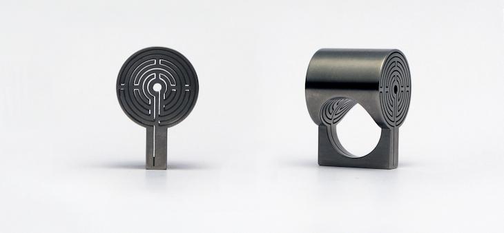 Ring, titanium