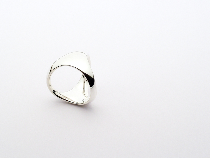 Ring, sterling silver