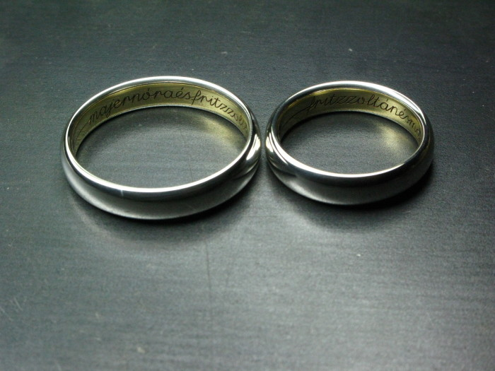 RINGS for Mr&Mrs Fritzmajer