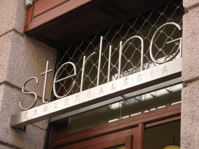 STERLING GALLERY SIGN